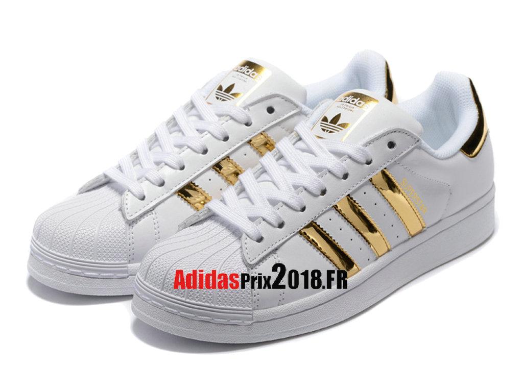 adidas superstar 2 blanc or