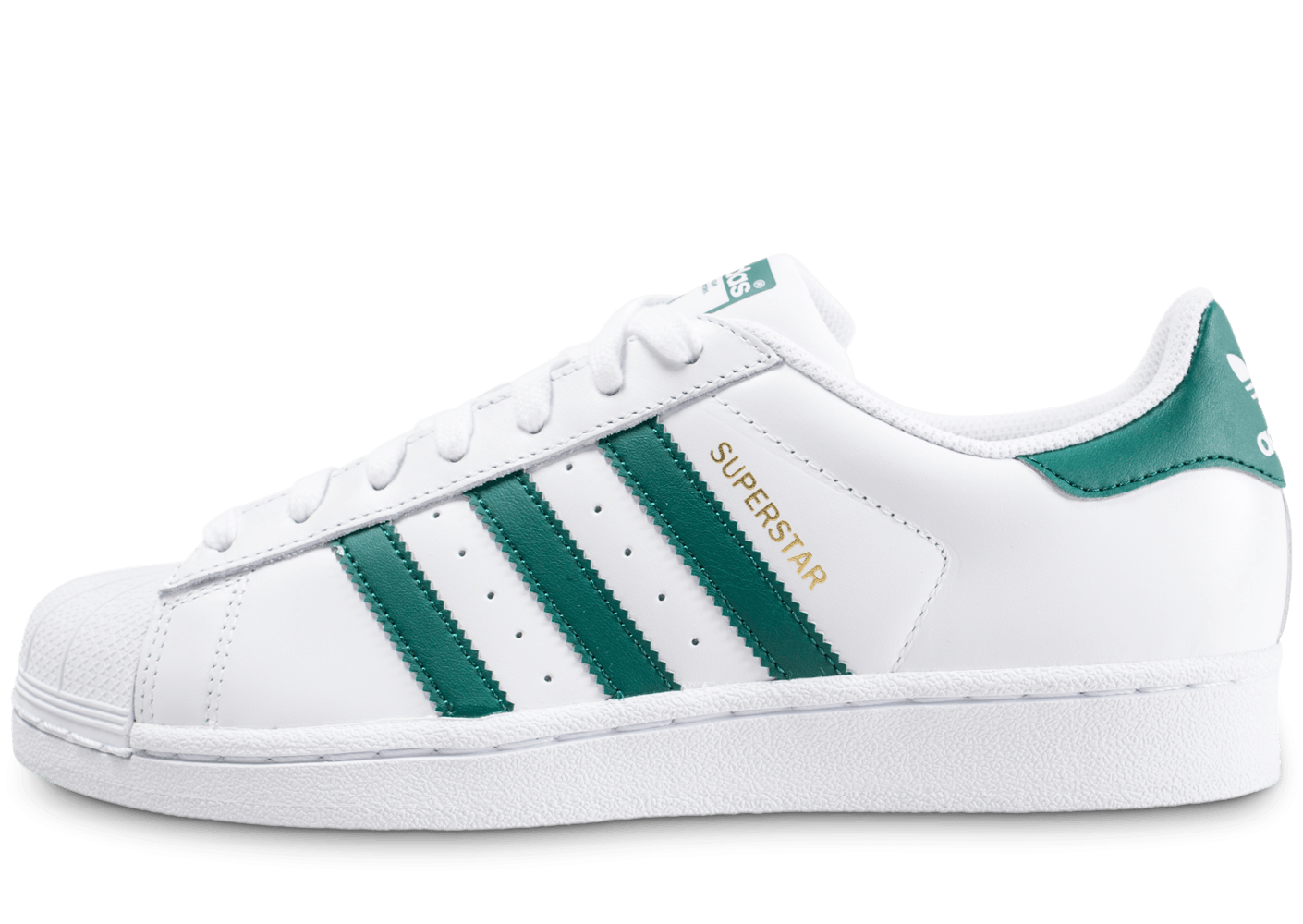 design intemporel 088be 4a002 adidas superstar blanc vert