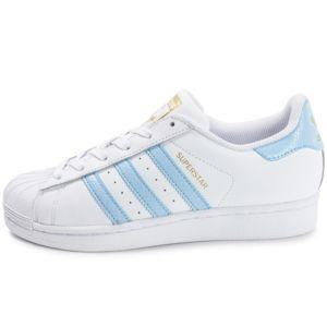 chaussures adidas femme superstar bleu