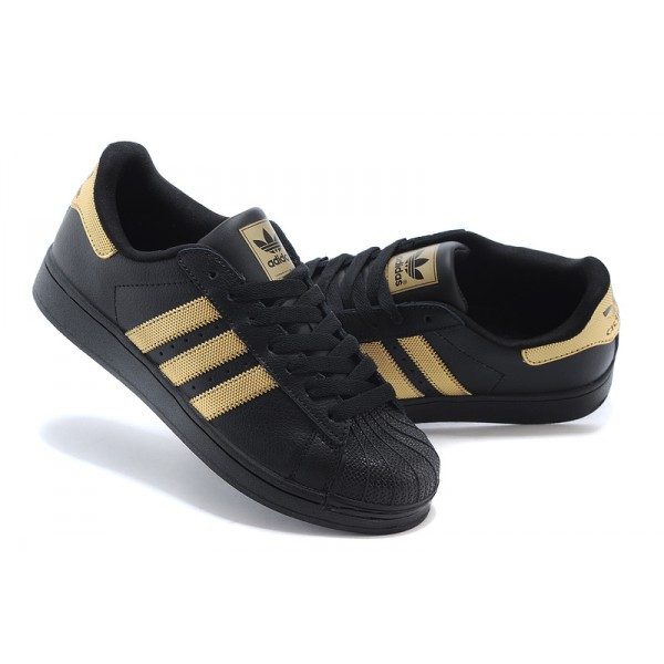 adidas femme or et noir