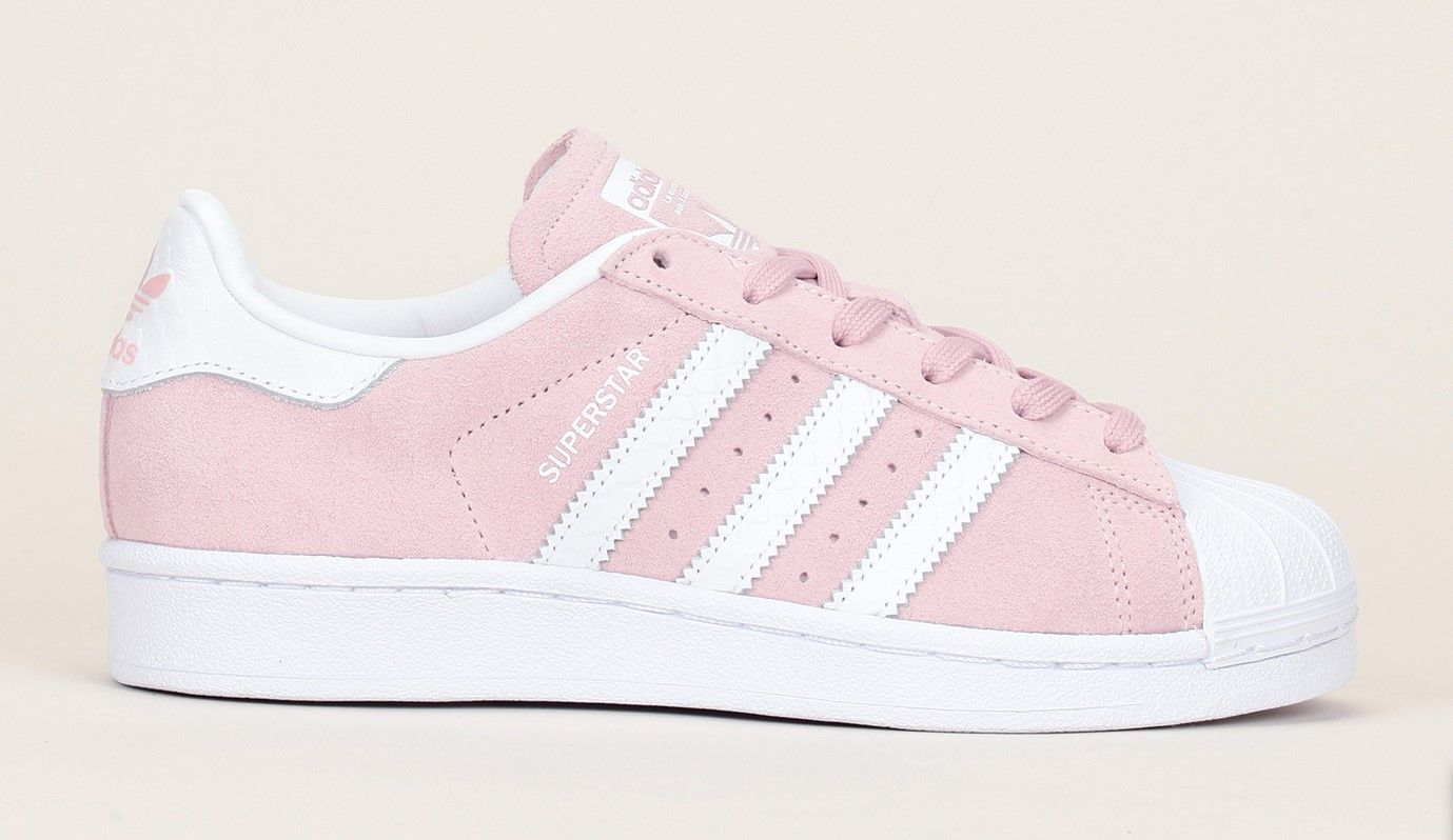 adidas superstar reptile rose