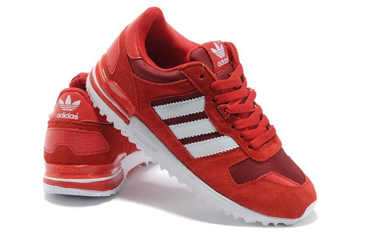 basket adidas zx rouge