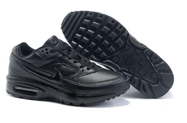 nike air max classic bw noir cuir